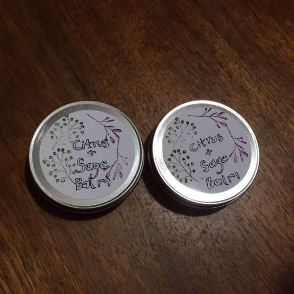 Homemade balm