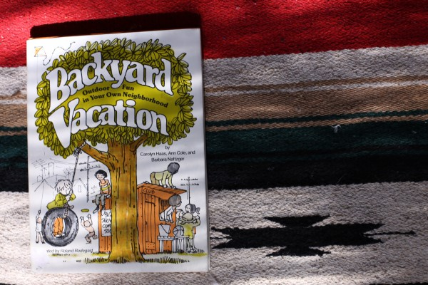 Backyard Vacation book