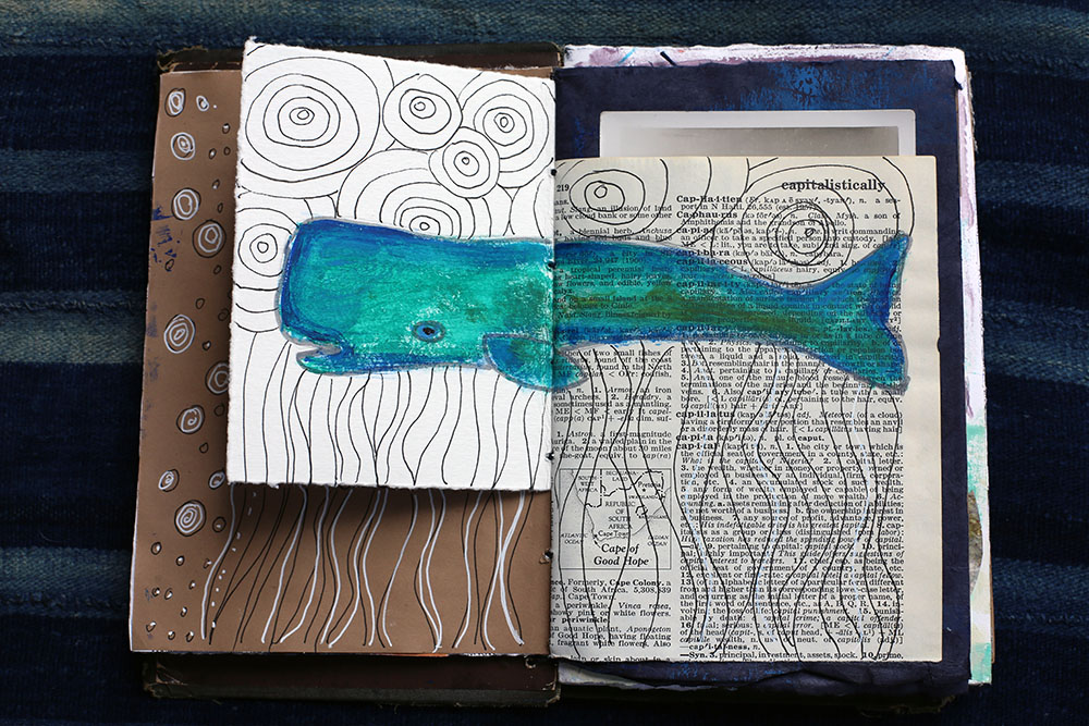 Book Travel Art Journal